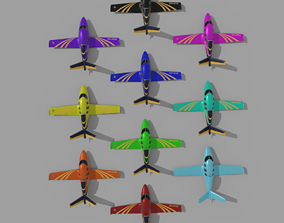 3D model realtime power rangers plane
