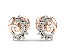Earrings-6889 3D printable model