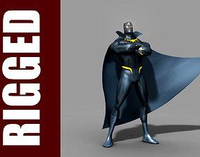 3D Black Panther Rig
