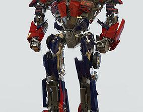 mechanical 3D Optimus Prime