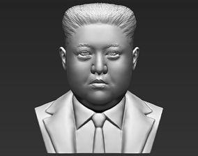 Kim Jong-un bust 3D printing ready stl obj formats
