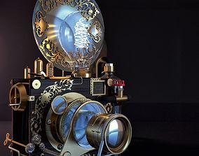 3D Steampunk camera