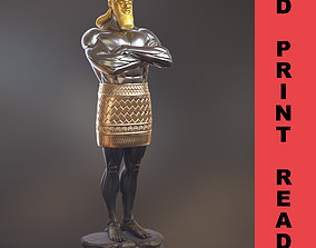 Daniel 2 Statue King Nebuchadnezzar religious 3D model 2