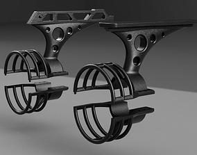 Paddleboard Thruster Bracket 3D print model