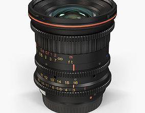 Tokina Cinema ATX 11-16mm T3 Canon EF 3D model