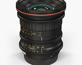 Tokina Cinema ATX 11-16mm T3 Canon EF 3D asset