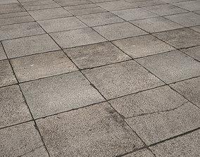 mm concrete tile 02 pavement 3D model