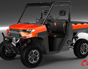 Polaris Ranger 2019 ATV 3D model