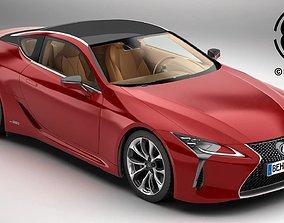 Lexus LC 500 US Hybrid 2018 3D