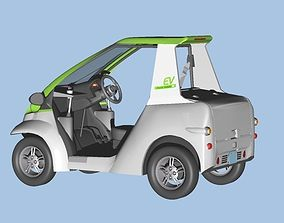 3D Personal Electric Vehicle 2Way
