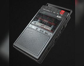 3D model Cassette Recorder