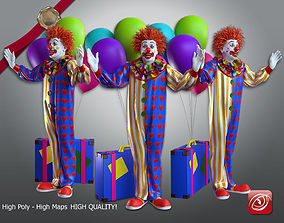Clown Male ACC 2130 001 3D model