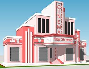 3D asset Cinema - Building