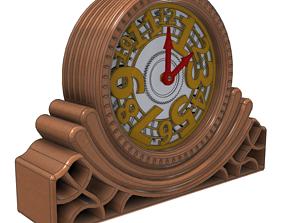 Contemporary Desk Clock - Design G 3D printable model