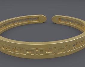 3D rgd name bracelet mk2