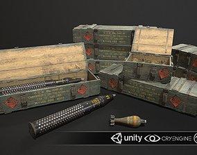 3D model Ammo Box Set