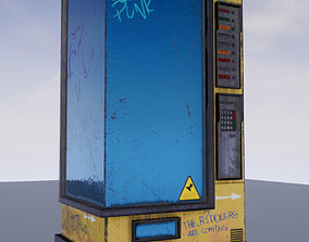 3D model The Drink Snacks Vending Machine Automat