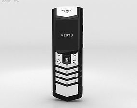 3D model Vertu Signature Black and White