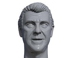 Jack Tunney 3D printable portrait sculpture