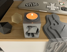 3D print model Tealight holder