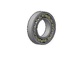 Cylindrical roller bearings 3D model