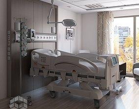 Medical Patient Room 2 3D model
