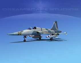 3D model Northrop F-5E Tiger V10 Navy