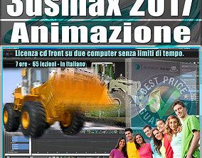 animated 005 3ds max 2017 Animazione Vol 5 Cd