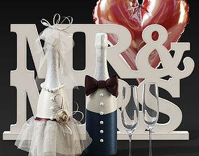 3D model Wedding Decoration