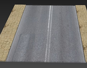 3D printable model Road and paivement