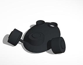 gas mask 3D print model