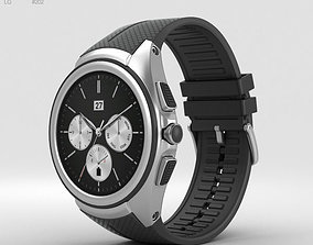 3D model LG Watch Urbane 2nd Edition Space Black