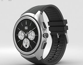 3D model LG Watch Urbane 2nd Edition Space Black