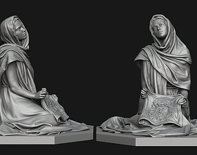 3D print model Saint Veronica Statue
