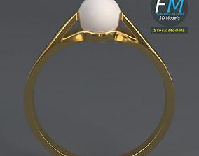 3D model Pearl ring