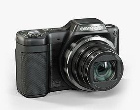 3D model Olympus Stylus SZ15 compact digital camera