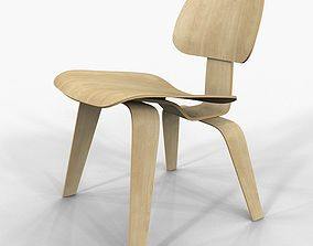 Chair Vitra Plywood Eames 3D model