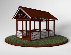 Arbor construction 3D model