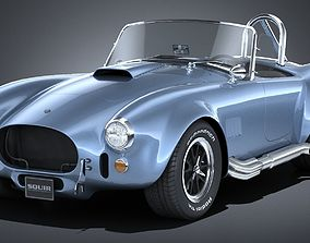 3D model Lowpoly Shelby Cobra 427 1965
