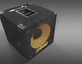 Bass Guitar Amplifier 3D model