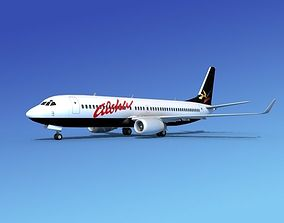 3D model Boeing 737-800 Aloha Airlines