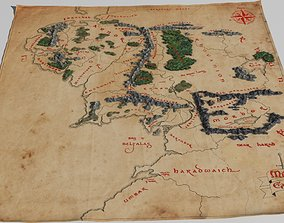 3d map of Middle Earth