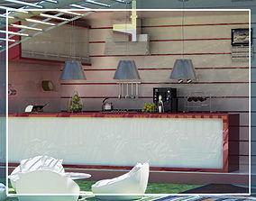 3D model The Cafe