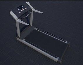 Treadmill 3D model VR / AR ready