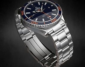 Omega Seamaster Watch 3D