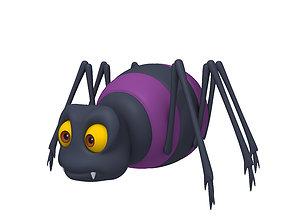 3D Spider Cartoon