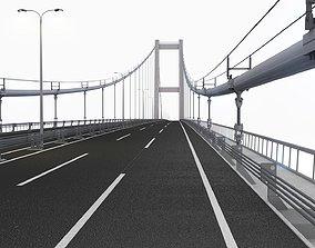 Bosphorus Suspension Bridge 3D model