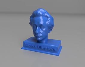 3D print model Albert Einstein The Statue