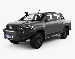 Toyota Hilux Double Cab Rugged X 2020 3D model