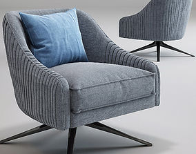 3D Roar Rabbit Swivel Chair West elm